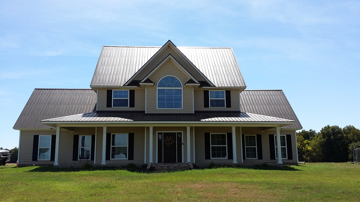 Steel Roofing And Siding