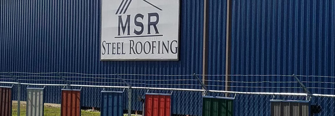 MSR Steel Roofing